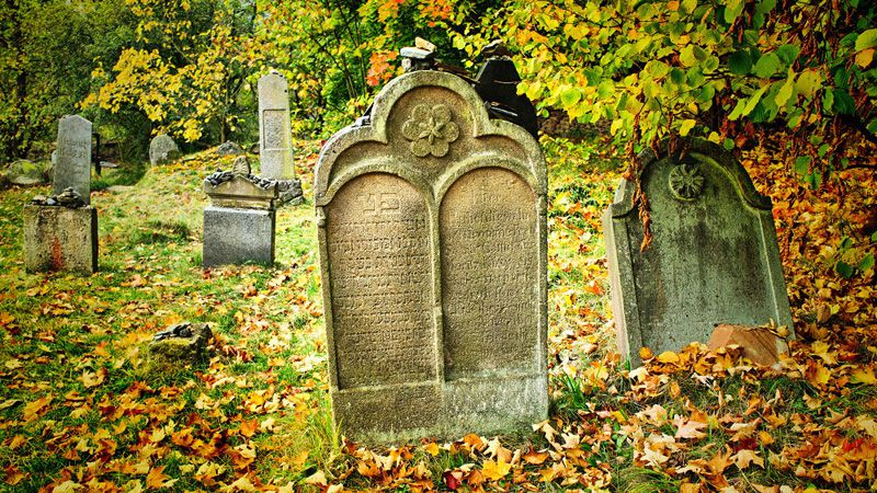 Rabštejn nad Střelou - Jewish cemetery