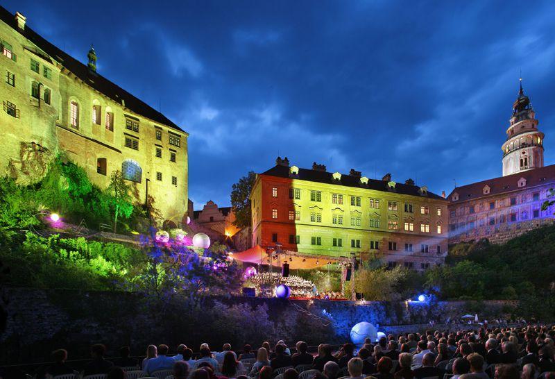 Český Krumlov - music festival