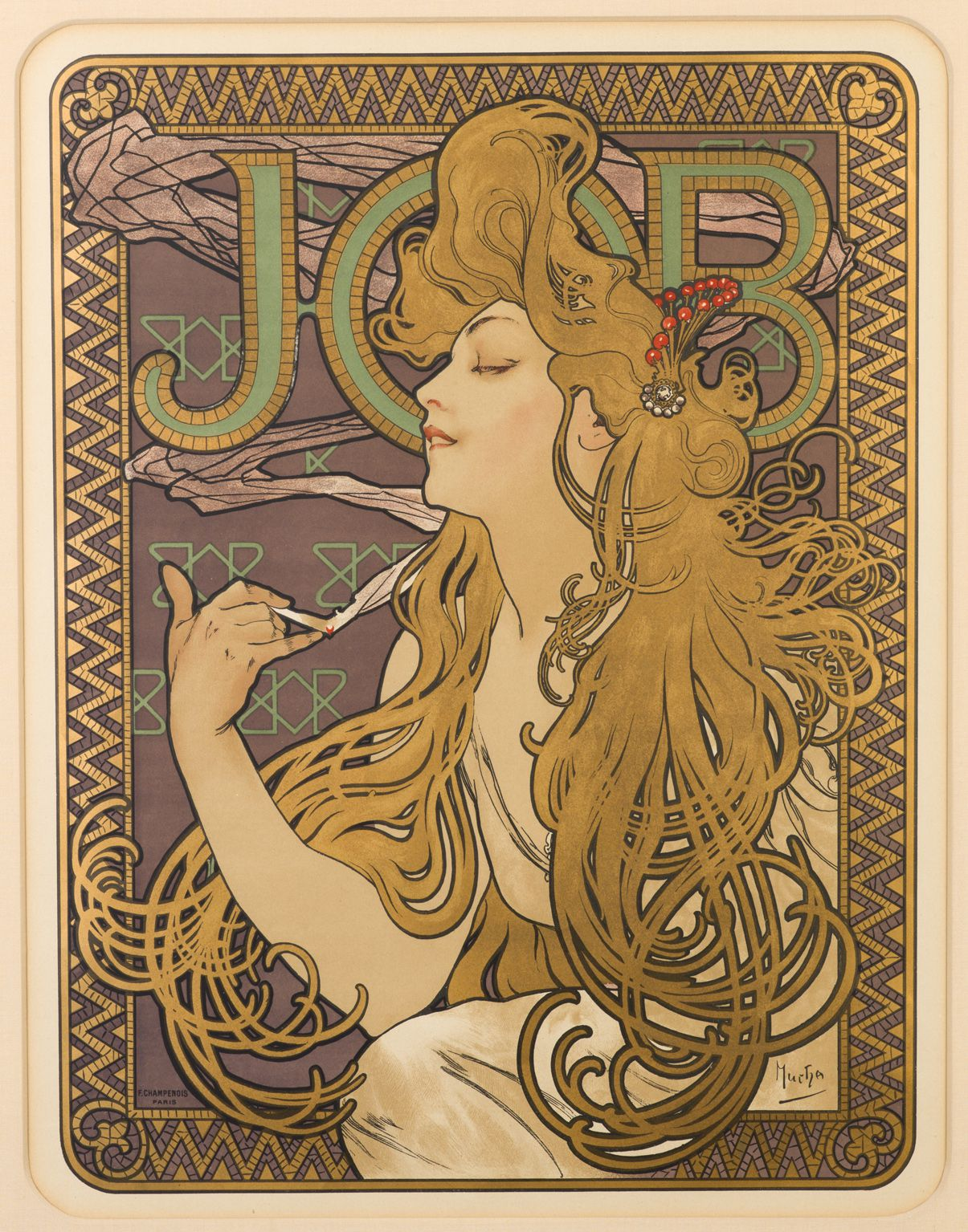 Alfons Mucha's posters – exhibition in Prague's Municipal House