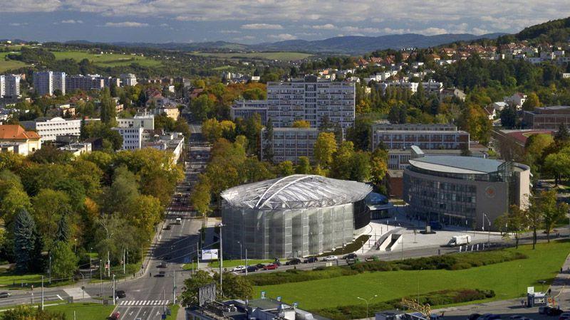 Zlín - Centro congressi ed universitario