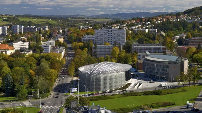 Zlín – Centrum Kongresowe iUniwersyteckie