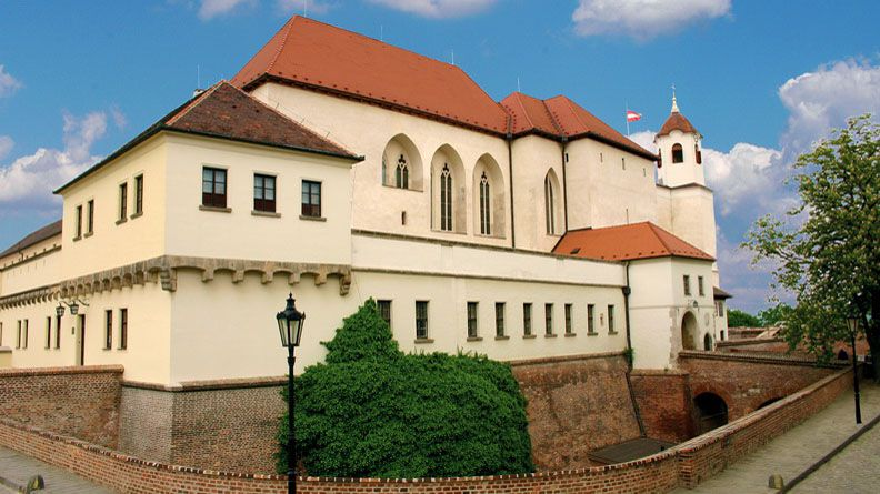 Brünn – die Burg Špilberk