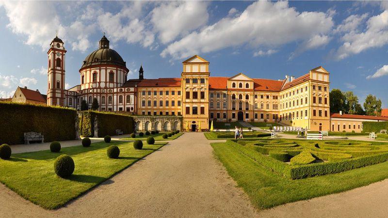 Jaroměřice nad Rokytnou – das Schloss