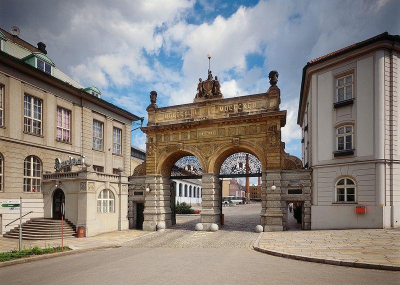 Plzeň - la brasserie Plzeňský Prazdroj
