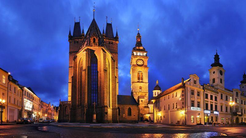 Hradec Králové - Plaza Mayor