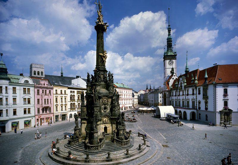 Olmütz – Platz Horní náměstí