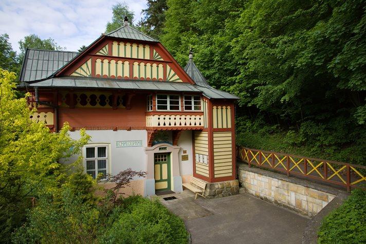 Villa Chaloupka in Luhačovice