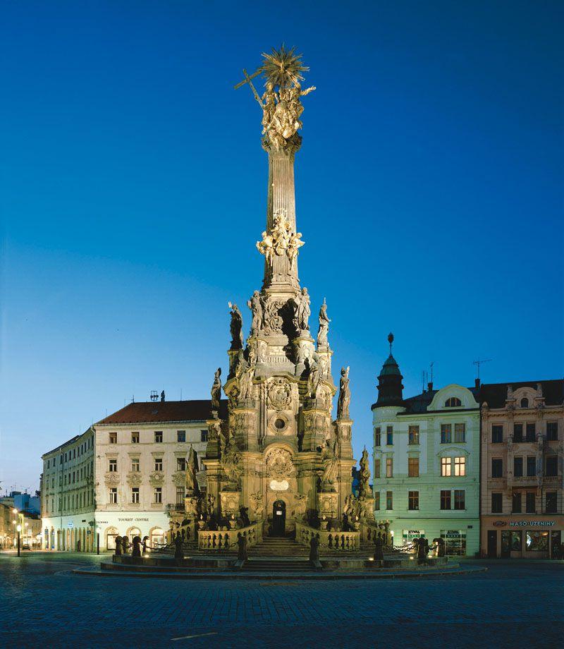 Olomouc - Colonna della Santissima Trinità