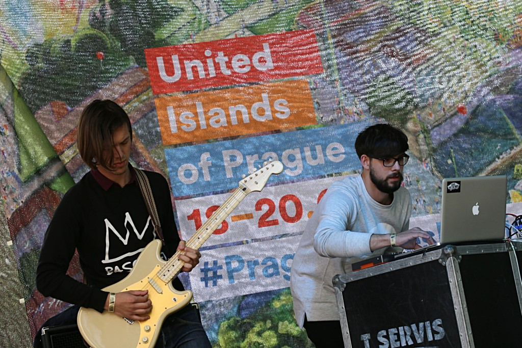 United Islands Music Festival in Praag.