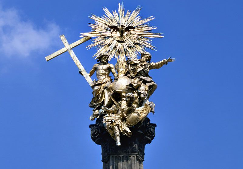 Olomouc - Columna de la Santísima Trinidad