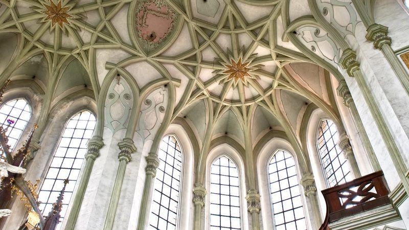 Monastère de Kladruby - l'église de l'Assomption-de-la-Vierge-Marie