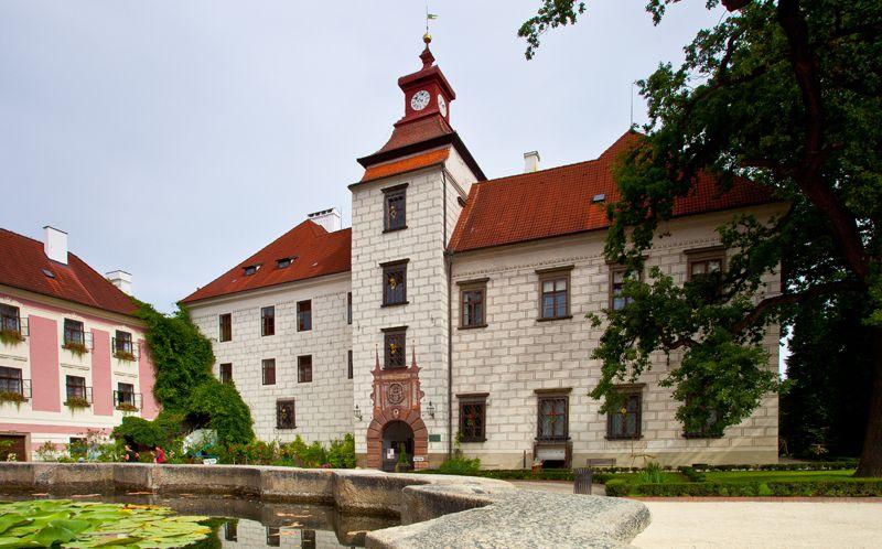 Třeboň - palazzo