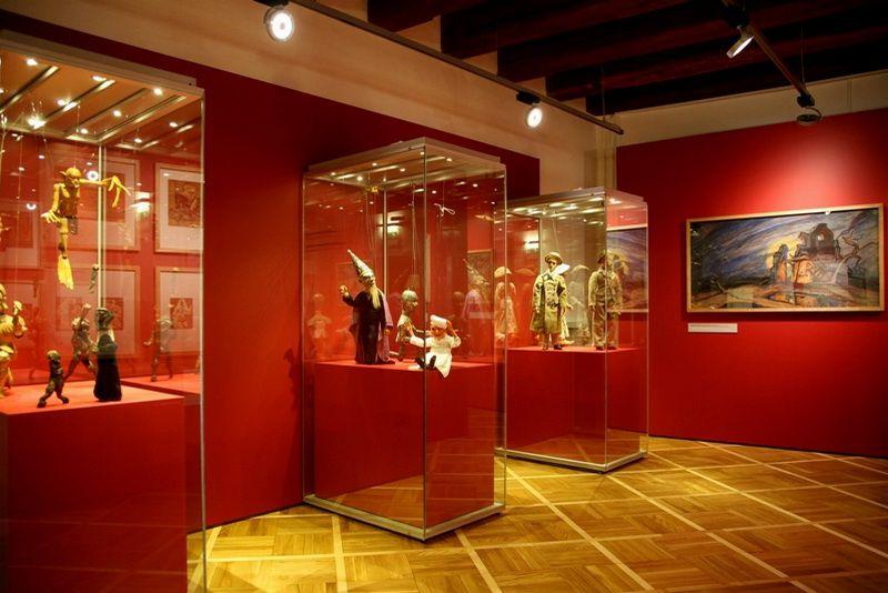 Le musées des marionnettes à Chrudim