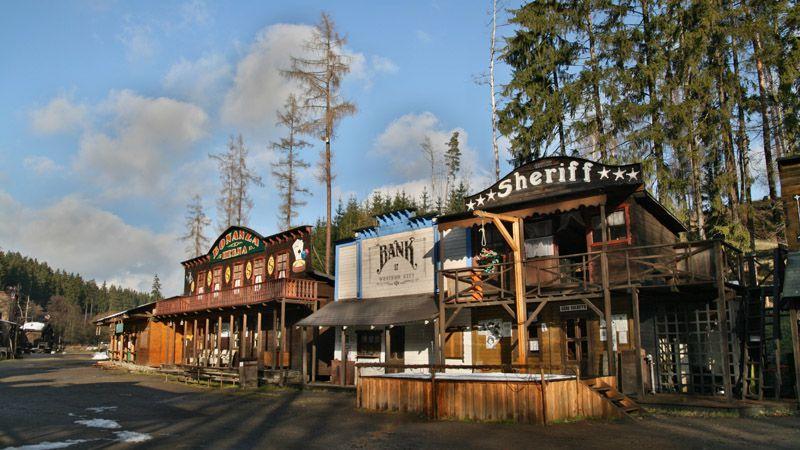 Šiklův mlýn Western Town