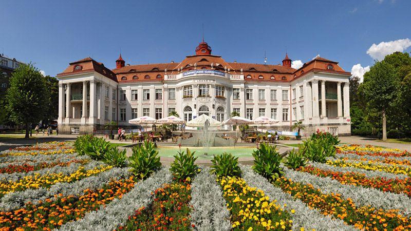 Karlovy Vary - les thermes Elisabeth