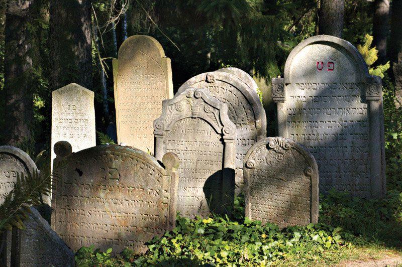 Тржебич - еврейское кладбище