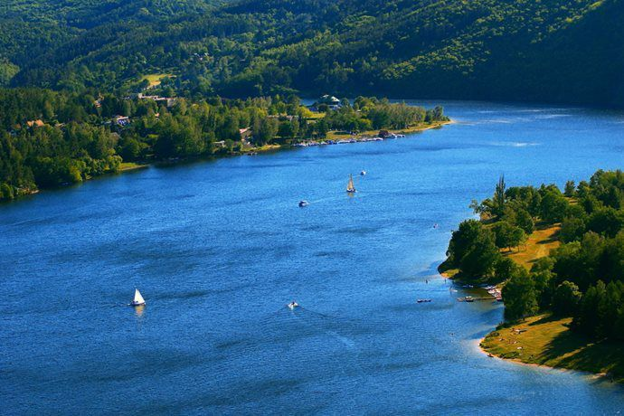 Orlík Water Reservoir
