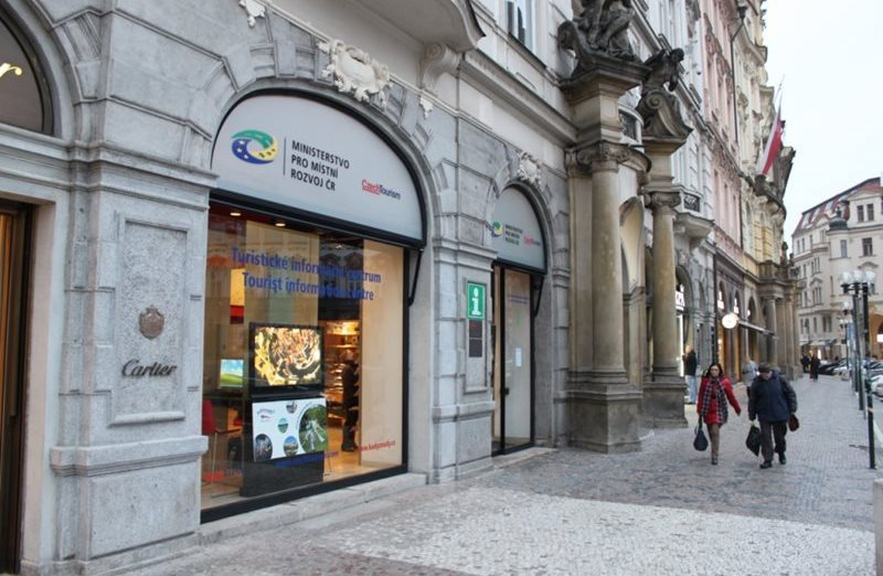 Information centre in the heart of Prague.