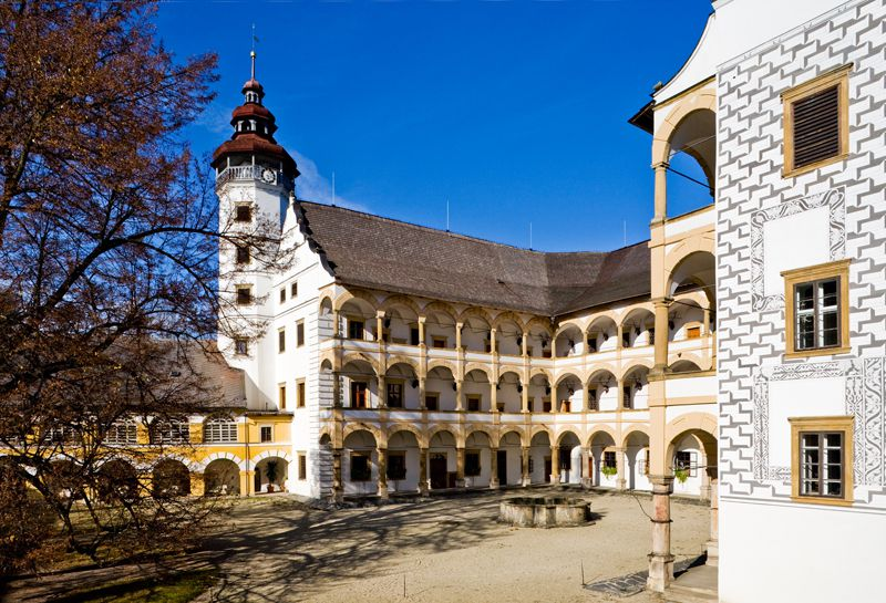 Velké Losiny - chateau