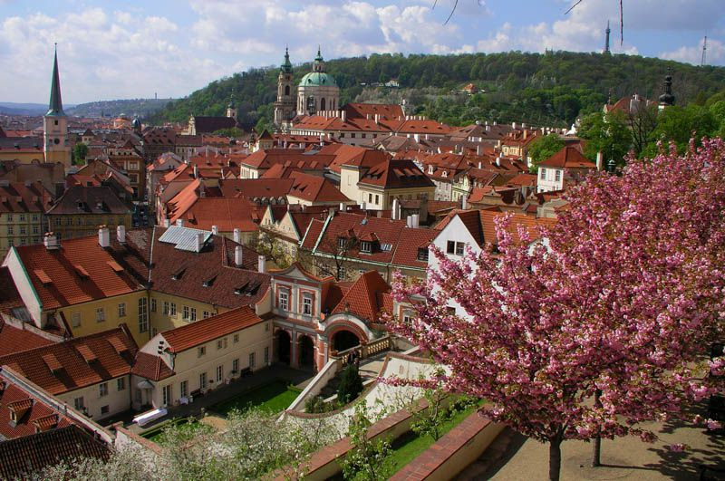Czech republic prague castle for Le jardin wallenstein