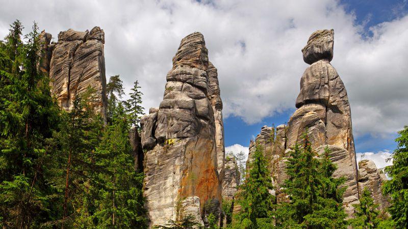 Adršpach Rocks