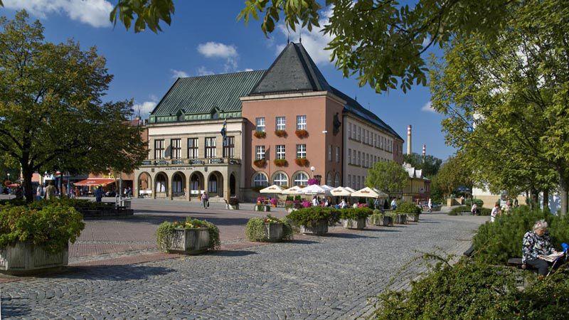 Zlín - l'hôtel de ville