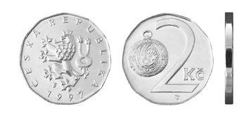 2 Czech Crowns