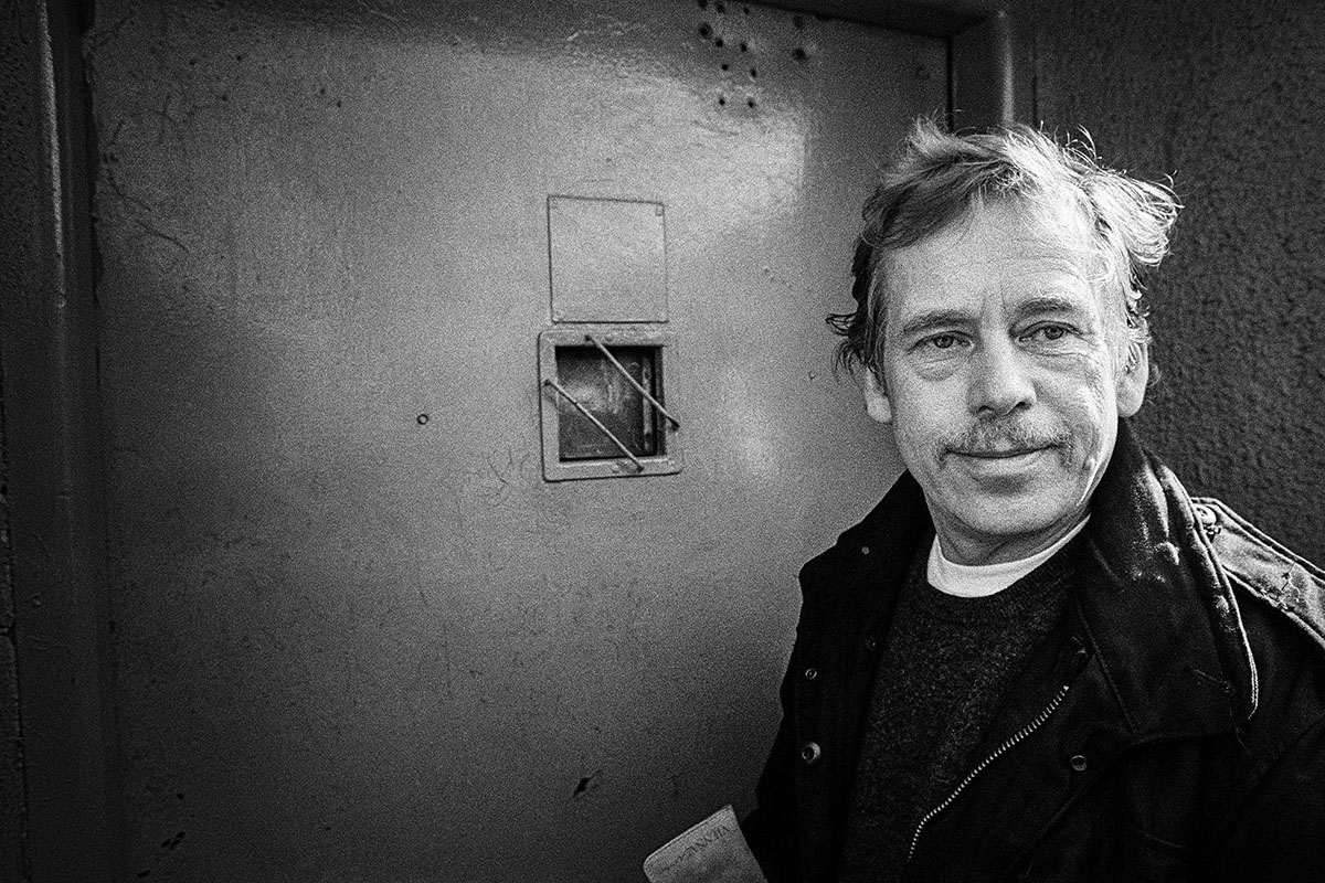 This extensive exhibition, on the occasion of what would have been Václav Havel's 80th birthday.