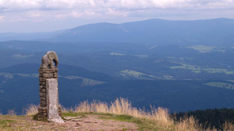 Monte Králický Sněžník - simbolo