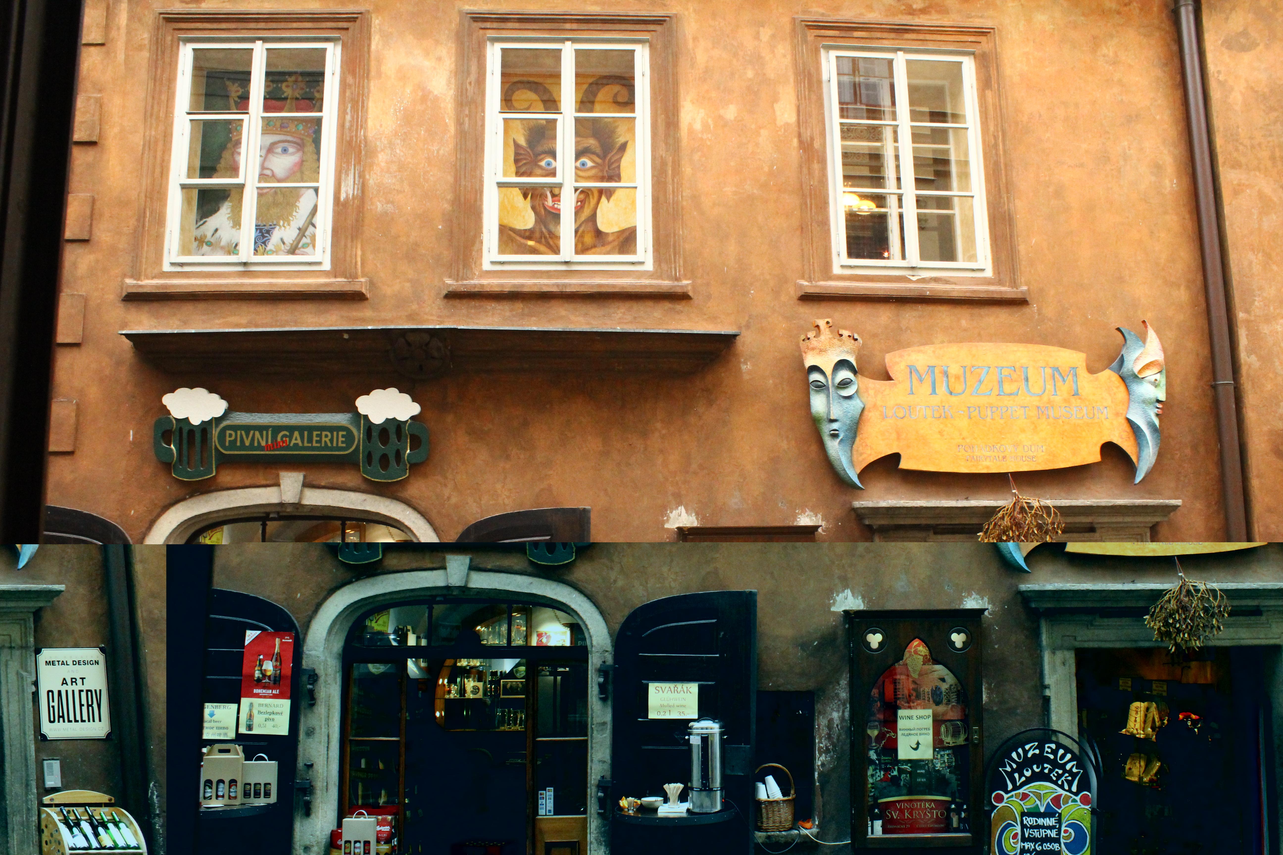 Fairytale House – Puppet Museum in Český Krumlov