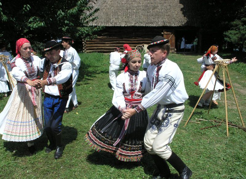 Le musée du village de Strážnice