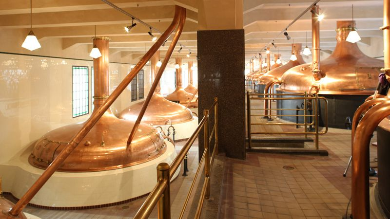 Pilsen - Fábrica de cerveza Pilsen