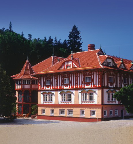 Jurkovič House in Luhačovice