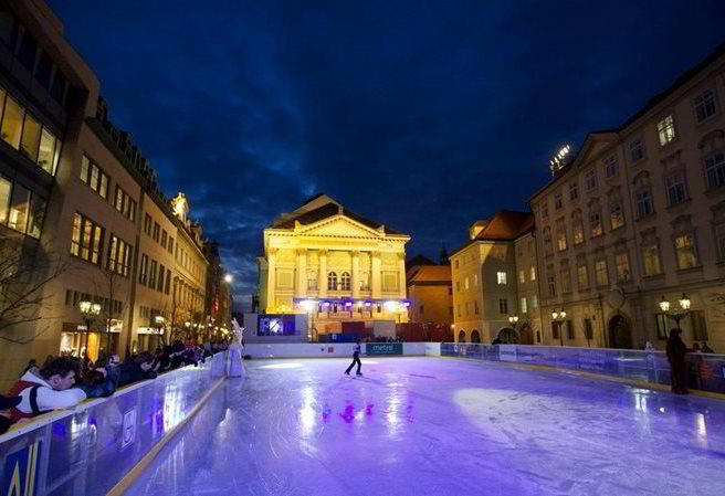Winter does not bring enjoyment only for skiers. Why don't you go skating? Thanks to ice rinks in towns, you don't have to rely on Jack Frost.