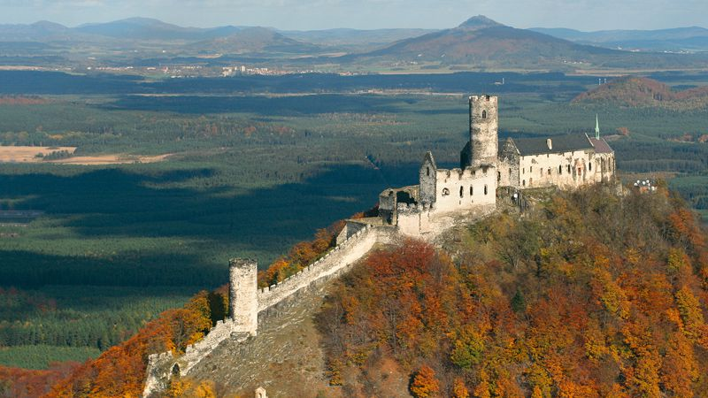 Le château fort de Bezděz