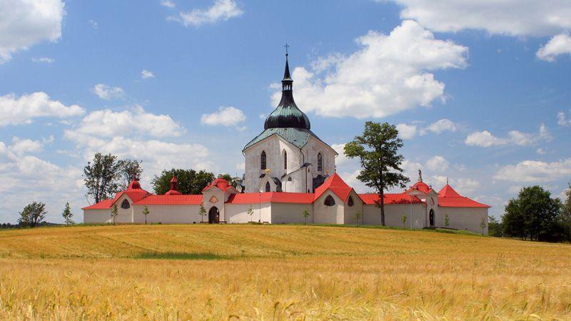Church of St. John of Nepomuk at Zelená hora
