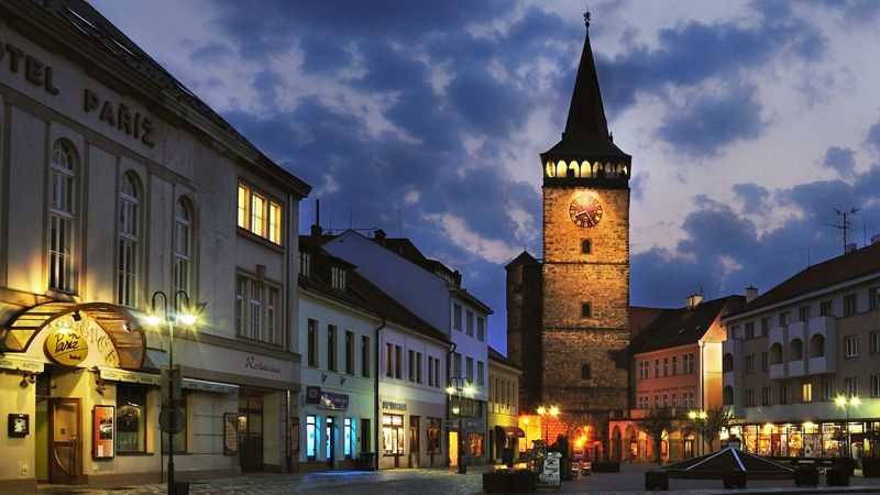 Jičín - Puerta de Valdice