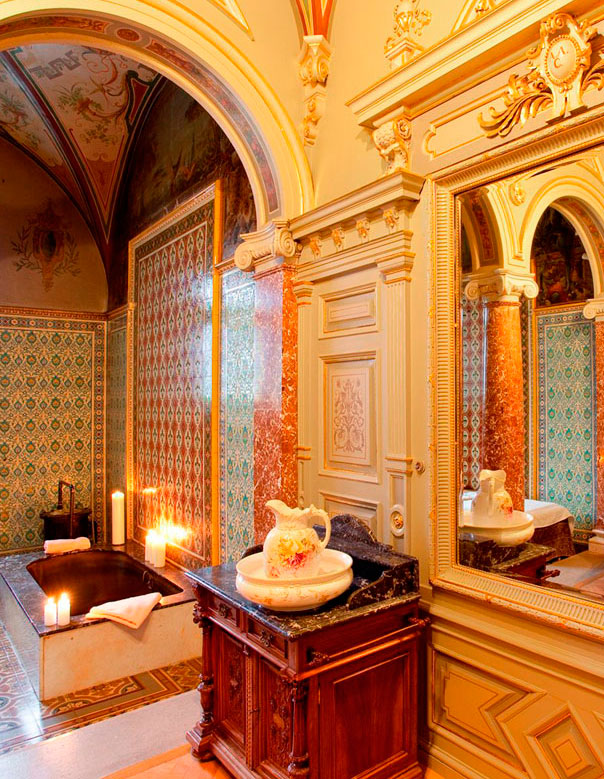 Royal Cabin of Edward VII in the Nové Lázně (New Spa) Hotel