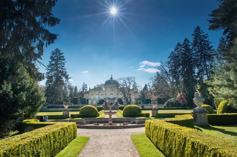 Buchlovice chateau garden