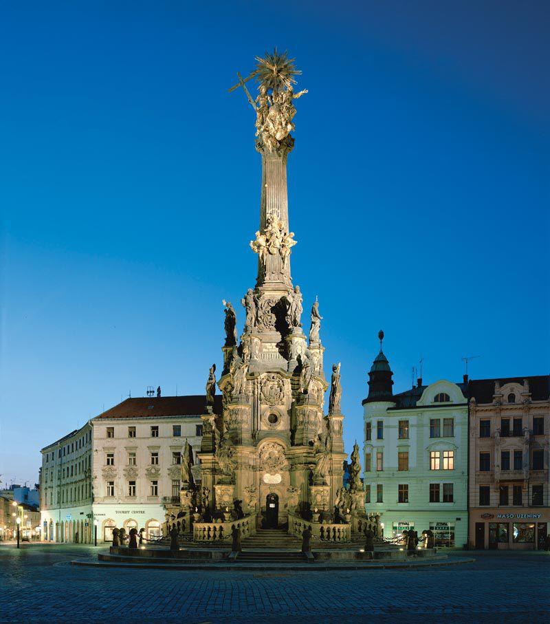Olomouc - la Colonne de la Sainte Trinité