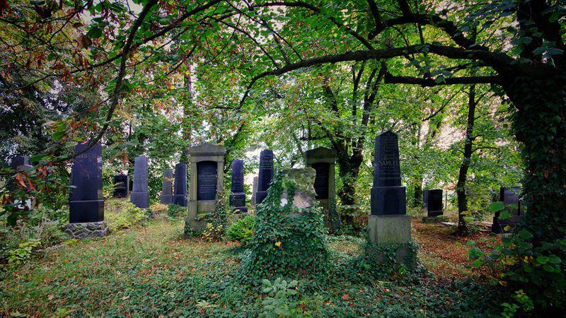 Rokycany - le cimetière juif
