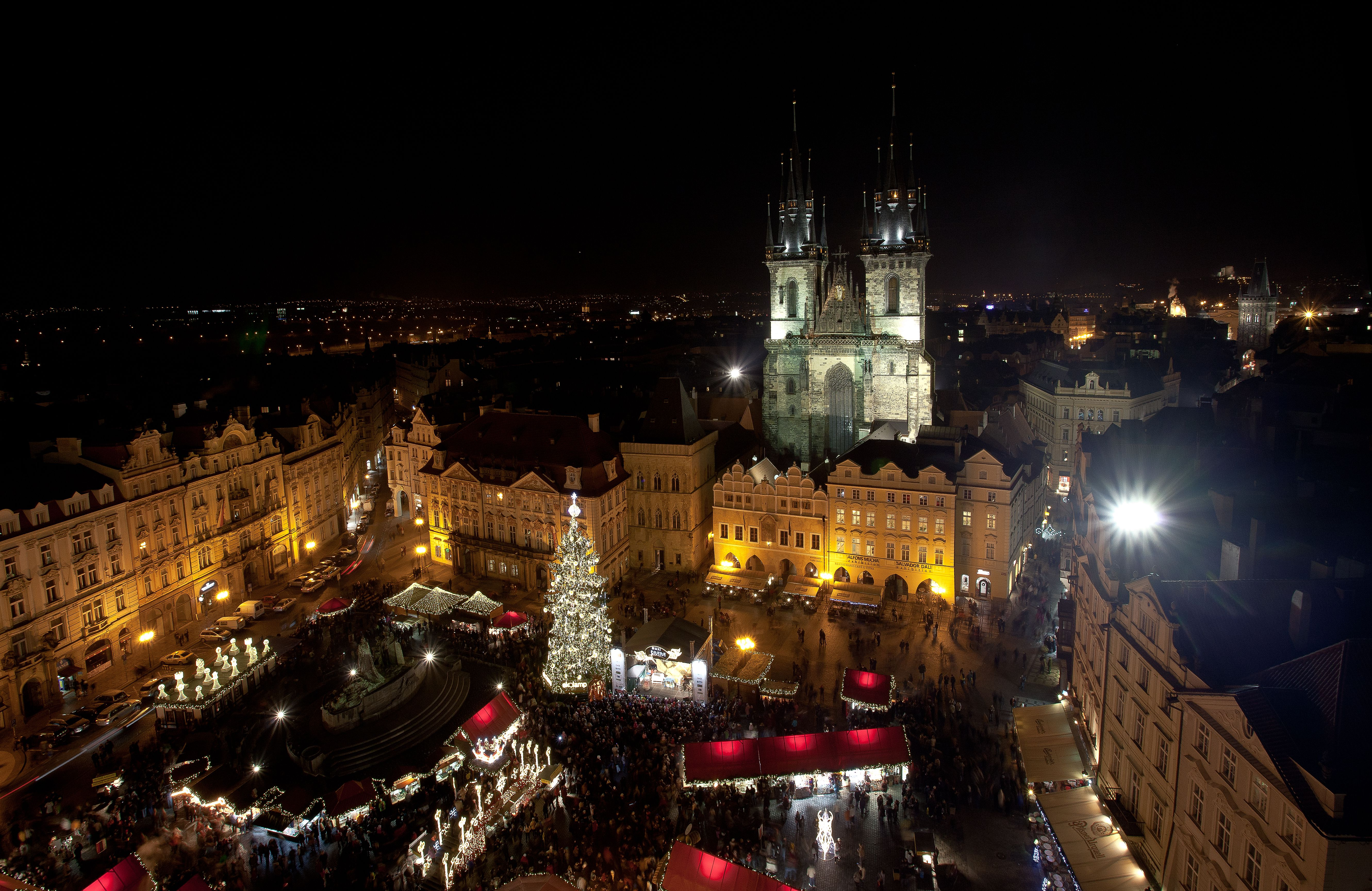 Enjoying Prague in the winter