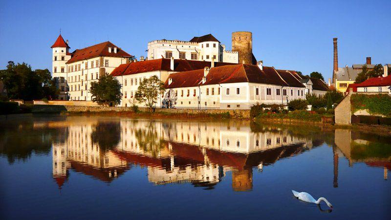 Jindřichův Hradec - le château