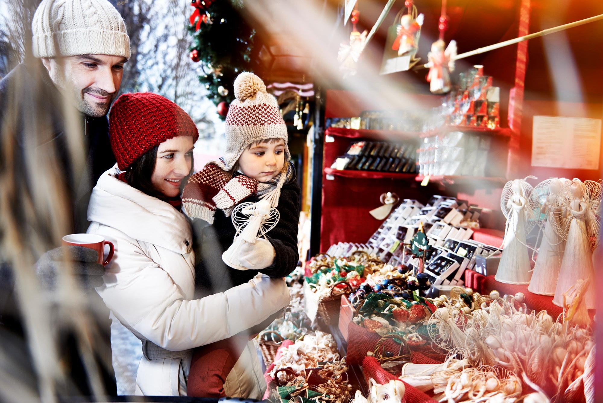布拉格的圣诞集市