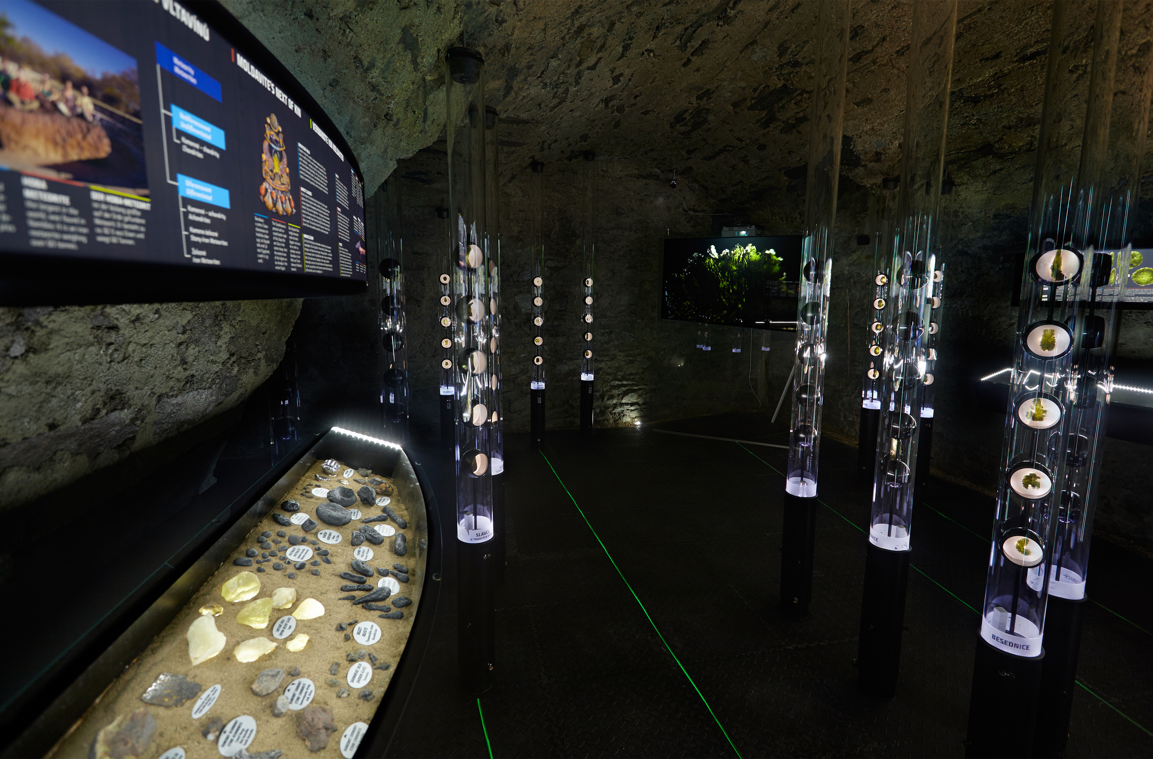 Moldavite Museum in Český Krumlov
