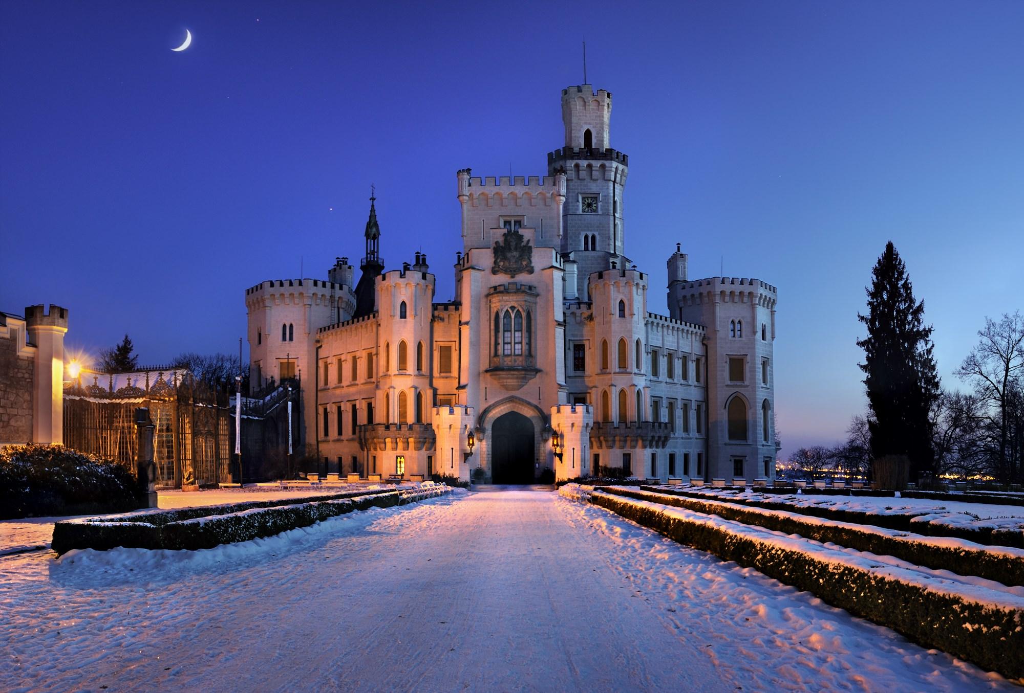 12 inšpirácií na hrady a zámky, ktoré sú otvorené v zime