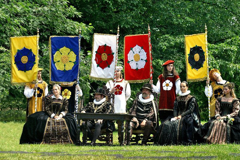 Go back to the past and meet valiant knights and gracious noblewomen!
