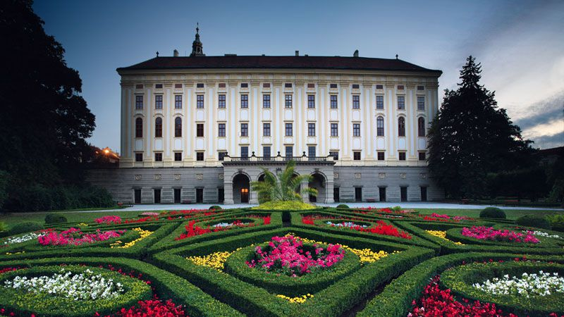 Kroměříž – Zamek Arcybiskupi