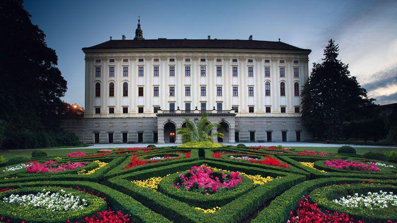 Kroměříž - Palacio Arzobispal