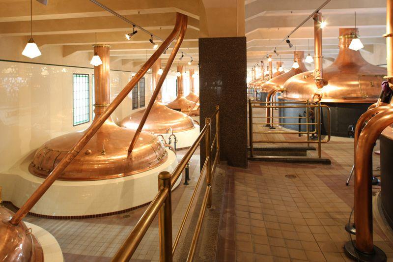 Пльзень - пивоваренный завод «Plzeňský Prazdroj»